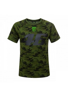 MOMTS317408 T-SHIRT VR46 MAN MONSTER CAMP CAMO