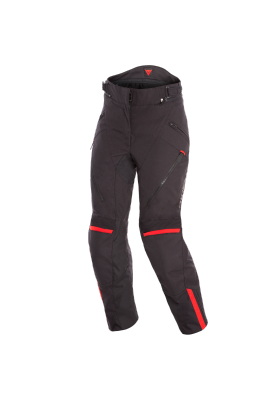 D-DRY TEMPEST 2 LADY PANTS 00A BLACK/BLACK/RED