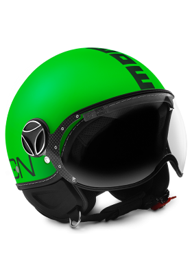 MOMODESIGN GREEN FLUO MATT BLACK
