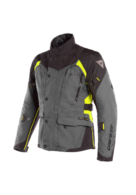 D-DRY X-TOURER D-DRY JACKET Z97 EBONY BLACK YELLOW
