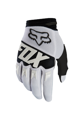 DIRTPAW RACE GLOVE FOX WHITE (22751-008)