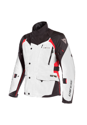 D-DRY X-TOURER D-DRY JACKET 02A LIGHT-GRAY BLACK RED