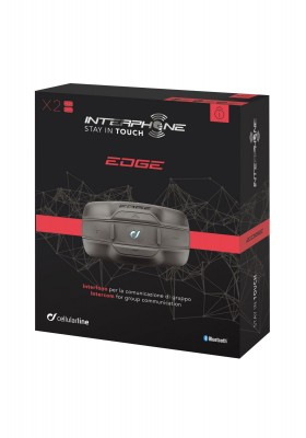 EDGE INTERPHONE TWIN PACK BLUETOOTH