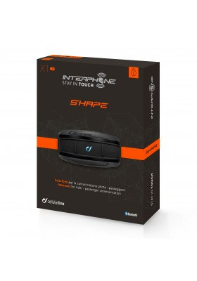 SHAPE INTERPHONE SINGLE PACK BLUETOOTH