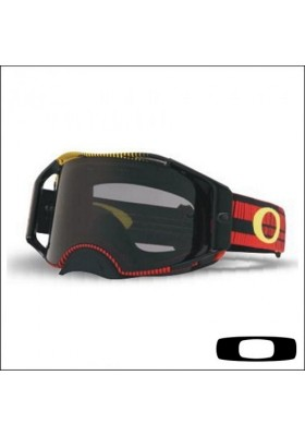 OAKL AIRBRAKE MX FREQUENCY RED YELLOW (7046-75)