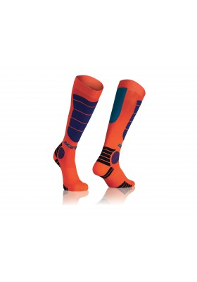 CALZA MX IMPACT KID 204 ARANCIO BLUE