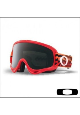 OAKL NEW O-FRAME BRAKINGBUMPS RED ORANGE (7029-49)