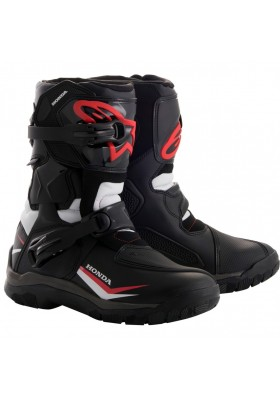 ALPINES. BELIZE DRYSTAR BOOTS REPLICA HONDA RED BLACK