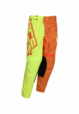 PANTS MX ECLIPSE KID 271 GIALLO ARANCIO