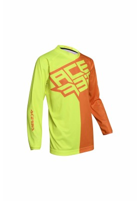 JERSEY MX ECLIPSE KID 271 GIALLO ARANCIO