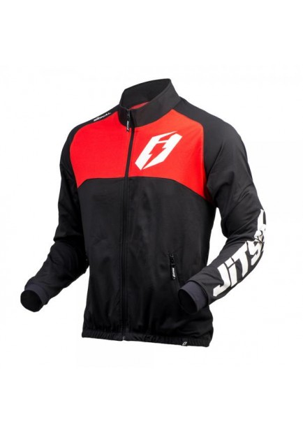 JITSIE SIGNAL TRIAL JACKET BLACK RED (JI15JASI-4625)