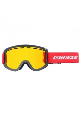 FREQUENCY GOGGLES U77 BLACK RED RED-ION