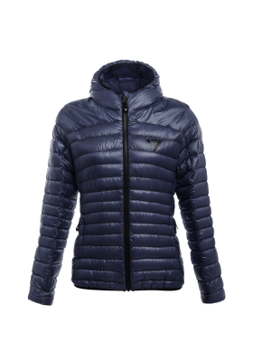 PACKABLE DOWNJACKET LADY I64 BLACK-IRIS