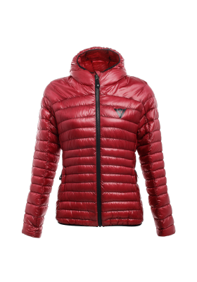 PACKABLE DOWNJACKET LADY Y44 CHILI-PEPPER