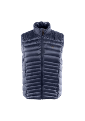 PACKABLE DOWNVEST MAN I64 BLACK-IRIS