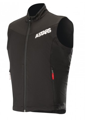 SESSION RACE VEST 13 BLACK RED