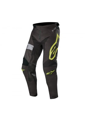 ALPINES. RACER TECH ATOMIC PANTS 1511 BLACK YELLOW FLUO
