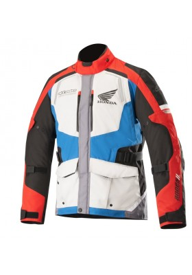ANDES V2 DRYSTAR JACKET HONDA 977 GRAY RED BLUE