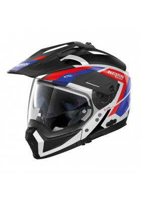 N70-2 X GRANDES ALPES 026 METAL WHITE BLUE RED