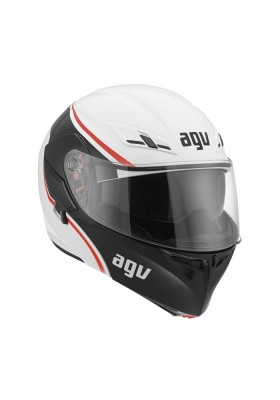 COMPACT AGV COURSE WHITE RED