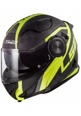 FF313 VORTEX FRAME CARBON HI-VIS YELLOW