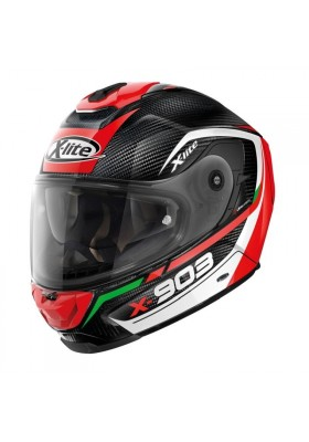 X-903 ULTRA CARBON CAVALCADE 010 BLACK RED