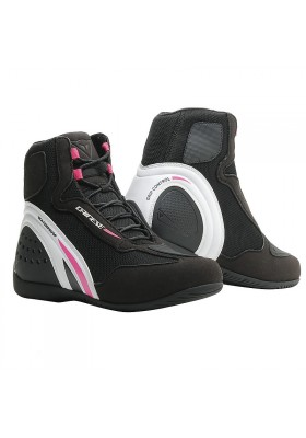 SCARPA MOTORSHOE D1 AIR LADY T76 BLACK FUCHSIA