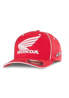 CAP MAN HONDA RED ALPINESTARS
