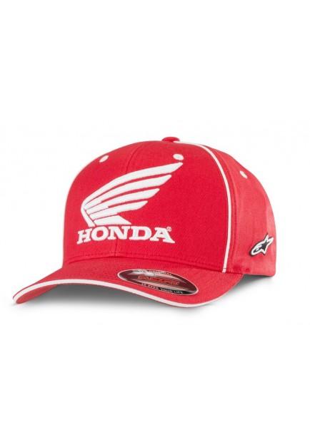 CAP MAN HONDA RED ALPINESTARS