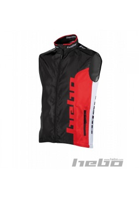 HE4349R GILET CHALECO HEBO LINE RED