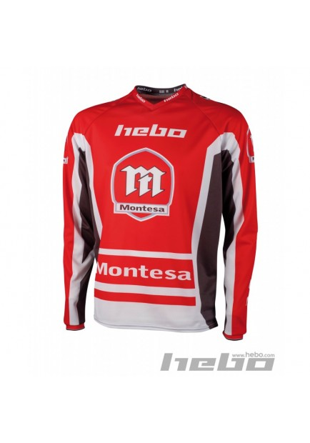 HE2163 MAGLIA TRIAL MONTESA CLASSIC III