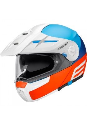 ENDURO HELMET E1 CUT BLUE
