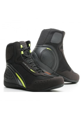 SCARPA MOTORSHOE D1 AIR 62A BLACK FLUO-YELLOW