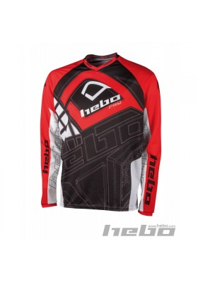 HE2136R MAGLIA TRIAL HEBO PRO JUNIOR RED