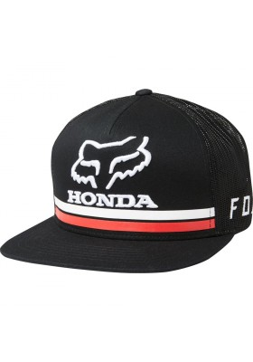 CAP HONDA BLACK SNAPBACK HAT FOX (22996-001)
