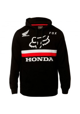 HONDA PULLOVER FLEECE BLACK FOX (23045-001)