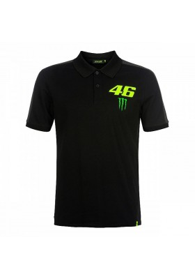 MOMPO358904 POLO BLACK VR46 MAN