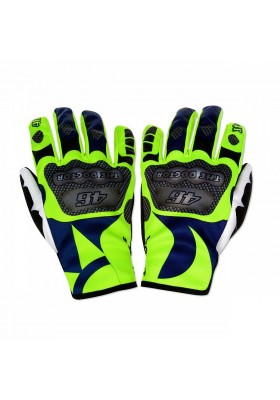 VRUGV357303 GUANTI REPLICA GLOVES VR46 BLUE YELLOW