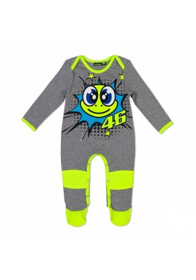 VRKOA353905 OVERALL KID GREY TARTA TURTLE