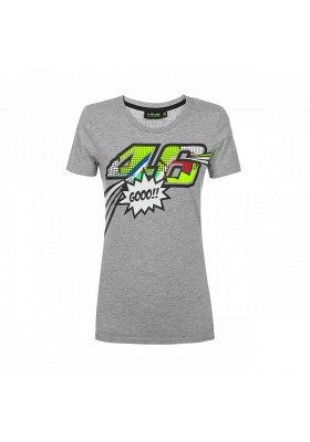 VRWTS352205 T-SHIRT GREY WOMAN POP ART