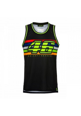 VRMTT350404 TANK TOP VR46 BLACK MAN
