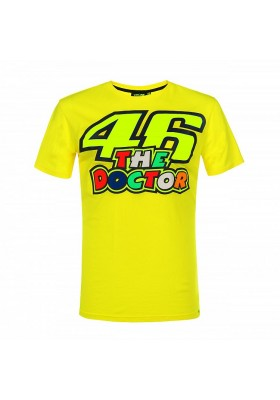 VRMTS351501 T-SHIRT YELLOW VR46