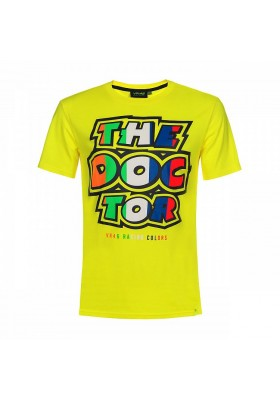 VRMTS350101 T-SHIRT YELLOW MAN VR46