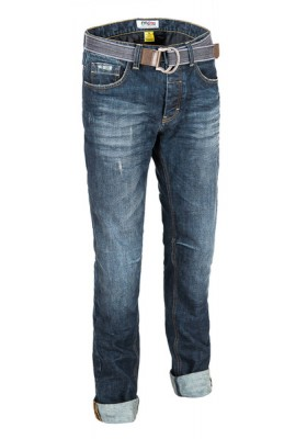 JEANS LEGEND DARK TWARON/COOLMAX + CINTURA INCLUSA DARK