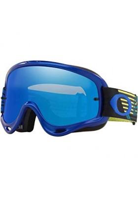 OAKL NEW O-FRAME MX BLUE BLACK ICE IRID (7129-51)