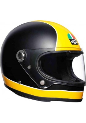 X3000 AGV MULTI 003 SUPER AGV MATT BLACK YELLOW