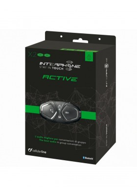 ACTIVE INTERPHONE TWIN PACK BLUETOOTH