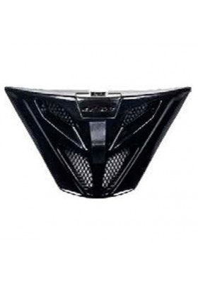 LS2 FF353 AIR VENT CHIN BLACK