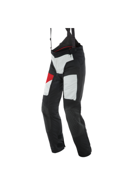 GORE D-EXPLORER 2 GORE-TEX PANTS 81C GLACIER-GRAY LAVA-RED BLACK