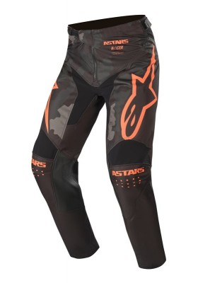 ALPINES. RACER TACTICAL PANTS 1144 BLACK GREEN CAMO ORANGE (3721220)